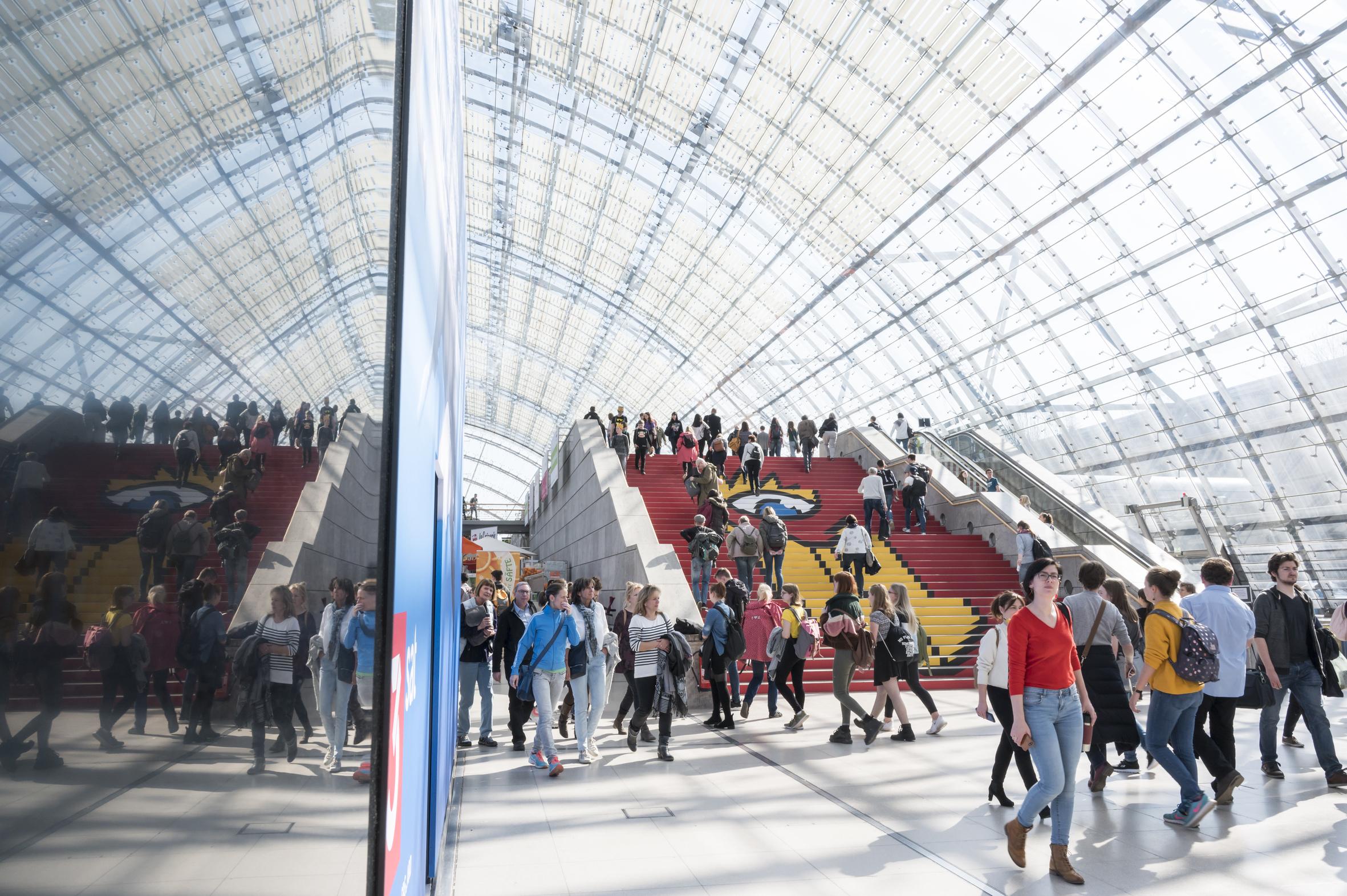 Leipziger Buchmesse 2019 Foto: Jens-Ulrich Koch.     +49 (0) 170 - 29 21 068. www.jens-ulrich-koch.de mail@jens-ulrich-koch.de